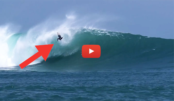 popoyo outer reef wipe out