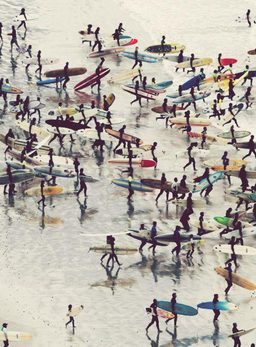 meilleure plage pour commencer le surf